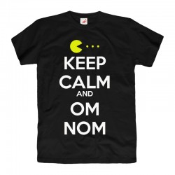 Koszulka T-shirt Keep Calm and OM NOM