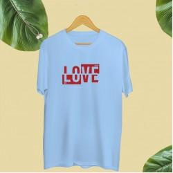 Koszulka unisex z nadrukiem LOVE me more
