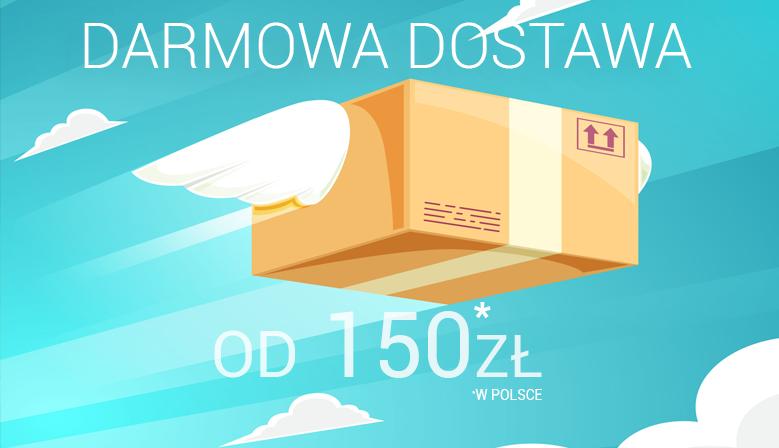 Darmowa dostawa od 150zł